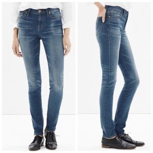 Madewell High Rise Alley Straight Jeans
